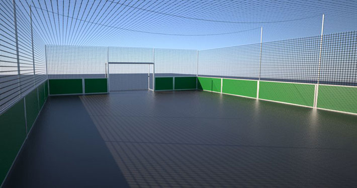 Individual Soccer Courts