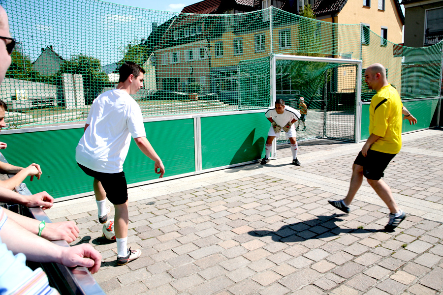 Soccerground Portable The Portable Street Football Court